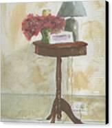 Antique Table Canvas Print