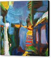 Apartment Abstract Canvas Print