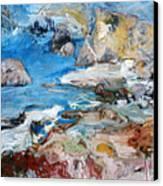 Aphrodites Rock Canvas Print
