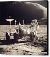 Apollo 15, 1971 Canvas Print by Granger