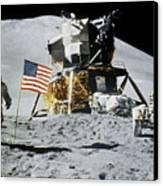 Apollo 15: Jim Irwin, 1971 Canvas Print