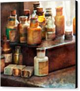 Apothecary - Chemical Ingredients  Canvas Print