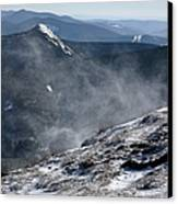 Appalachian Trail - Franconia Ridge-white Mountains New Hampshire Canvas Print