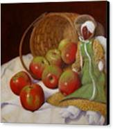 Apple Annie Canvas Print by Donelli  DiMaria