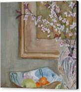 Apples And Oranges Canvas Print by Jenny Armitage