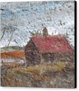 Approaching Storm Canvas Print by Norman F Jackson