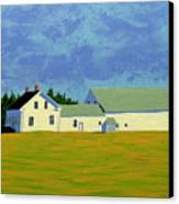 April Afternoon Route 17 Canvas Print by Laurie Breton