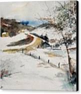 Aqua 220908 Canvas Print