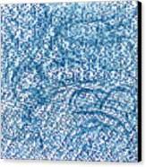 Aqua Minerale Canvas Print