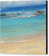 Aqua Moloa'a Canvas Print