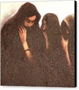 Arab Women Canvas Print