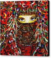 Arabian Eyes Canvas Print
