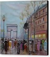 Arc De Triompfe - Lmj Canvas Print