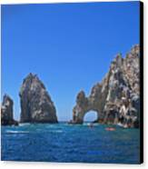 Arch At Cabo San Lucas Canvas Print