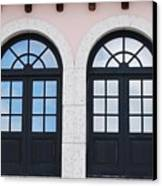 Arch Windows Canvas Print