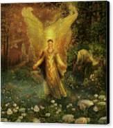 Archangel Azrael Canvas Print by Steve Roberts