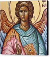 Archangel Michael Canvas Print by Julia Bridget Hayes