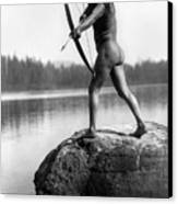 Archery: Nootka Indian Canvas Print by Granger