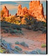 Arches Vista Canvas Print
