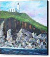 Arecibo Lighthouse Canvas Print