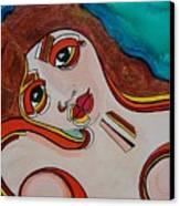 Arial Canvas Print
