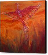 Arising From The Depths Canvas Print by Judy M Watts-Rohanna