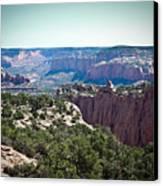 Arizona Desert Landscape Canvas Print by Ryan Kelly