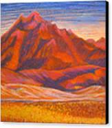 Arizona Mountains At Sunset Canvas Print