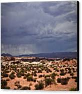 Arizona Rainy Desert Landscape Canvas Print