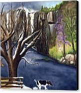 Arkansas Seasonal Glory Canvas Print