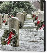 Arlington Christmas Canvas Print by JC Findley