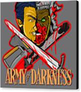 Army Of Darkness Ash Canvas Print