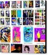 Arrangement 2 Canvas Print