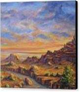 Arroyo Sunset Canvas Print