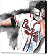Art Of The Braves Canvas Print by Torben Gray
