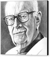 Arthur C. Clarke Canvas Print