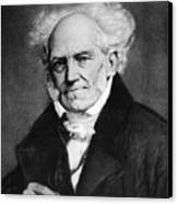 Arthur Schopenhauer Canvas Print by Granger
