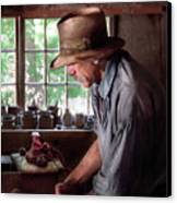 Artist - Potter - The Potter IIi Canvas Print by Mike Savad