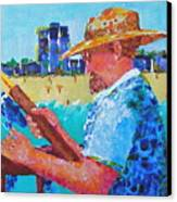 Artist Life Canvas Print