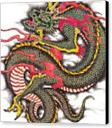 Asian Dragon Canvas Print by Maria Arango