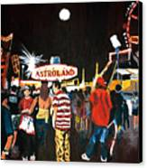 Astroland Canvas Print