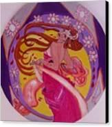 At The Ball Canvas Print