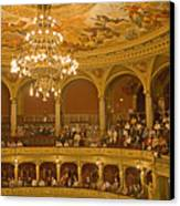 At The Budapest Opera Canvas Print by Madeline Ellis
