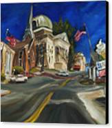 Athens Al Canvas Print by Carole Foret
