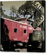 Atlantic Coast  Line Railroad Carriage Canvas Print