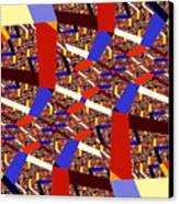 Atomic Link Canvas Print