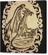 Audrey's Dragon Canvas Print