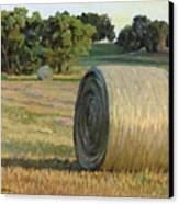 August Bales Canvas Print