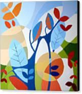 August Canvas Print by Carola Ann-Margret Forsberg