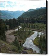 August In Colorado Canvas Print